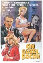 On Güzel Bacak (1964) afişi