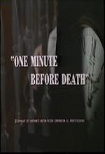 One Minute Before Death (1972) afişi