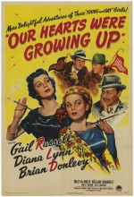 Our Hearts Were Growing Up (1946) afişi