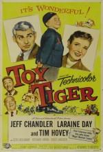 Oyuncak Kaplan (1956) afişi