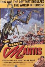 Ölümcül Mantis (1957) afişi