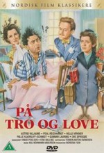 På Tro Og Love (1955) afişi