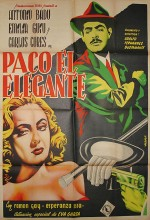 Paco, El Elegante (1952) afişi