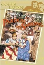 Pardon My Sarong (1942) afişi