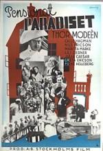 Pensionat Paradiset (1937) afişi