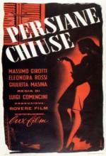 Persiane Chiuse (1950) afişi