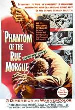 Phantom Of The Rue Morgue (1954) afişi