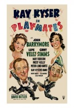Playmates (1941) afişi
