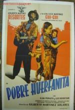 Pobre Huerfanita (1955) afişi