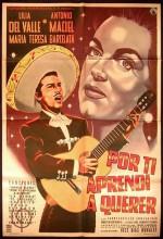 Por Ti Aprendí A Querer (1960) afişi