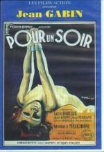 Pour Un Soir..! (1931) afişi