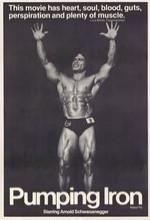 Pumping Iron (1977) afişi