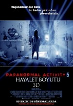 Paranormal Activity 5: Hayalet Boyutu (2015) afişi