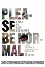 Please Be Normal (2013) afişi