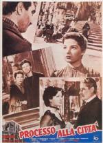 Processo alla città (1952) afişi