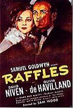 Raffles (1939) afişi