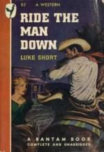 Ride The Man Down (1952) afişi