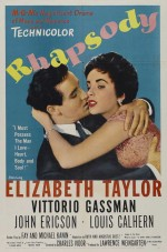 Rapsodi (1954) afişi