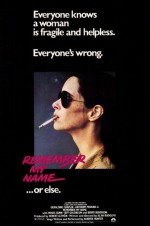 Remember My Name (1978) afişi