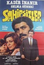 Sahipsizler (1974) afişi