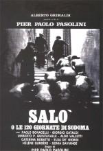 Salo Ya Da Sodom'un 120 Günü (1975) afişi