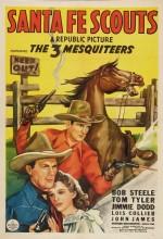 Santa Fe Scouts (1943) afişi