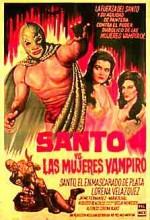 Santo Vs. Las Mujeres Vampiro (1962) afişi