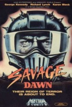 Savage Dawn (1985) afişi