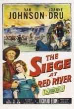 Siege At Red River (1954) afişi