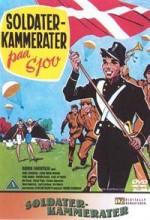 Soldaterkammerater På Sjov (1962) afişi