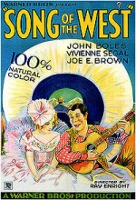 Song Of The West (1930) afişi