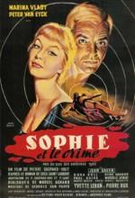 Sophie Et Le Crime (1955) afişi