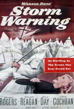 Storm Warning (1951) afişi