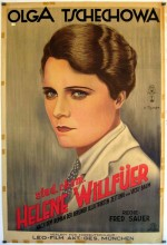 Stud. Chem. Helene Willfüer (1930) afişi
