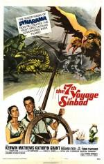 Sinbad'In 7. Yolculuğu (1958) afişi