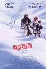Spies Like Us (1985) afişi