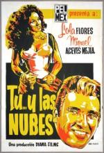 Tú Y Las Nubes (1955) afişi