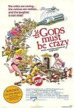 Tanrılar Çıldırmış Olmalı (1980) afişi