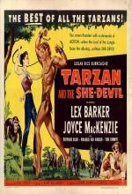 Tarzan And The She-devil (1953) afişi