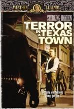 Terror In A Texas Town (1958) afişi