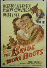 The Bride Wore Boots (1946) afişi