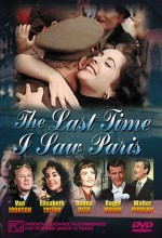 The Last Time I Saw Paris (1954) afişi