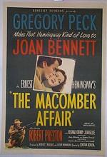 The Macomber Affair (1947) afişi