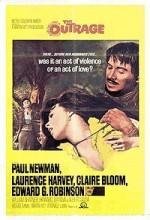 The Outrage (1964) afişi