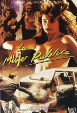 The Public Woman (1984) afişi