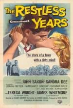 The Restless Years (1958) afişi