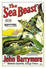 The Sea Beast (1926) afişi