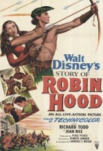 The Story Of Robin Hood And His Merrie Men (1952) afişi