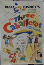 The Three Caballeros (1944) afişi