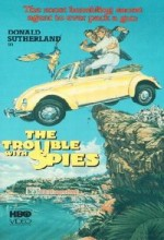 The Trouble With Spies (1987) afişi